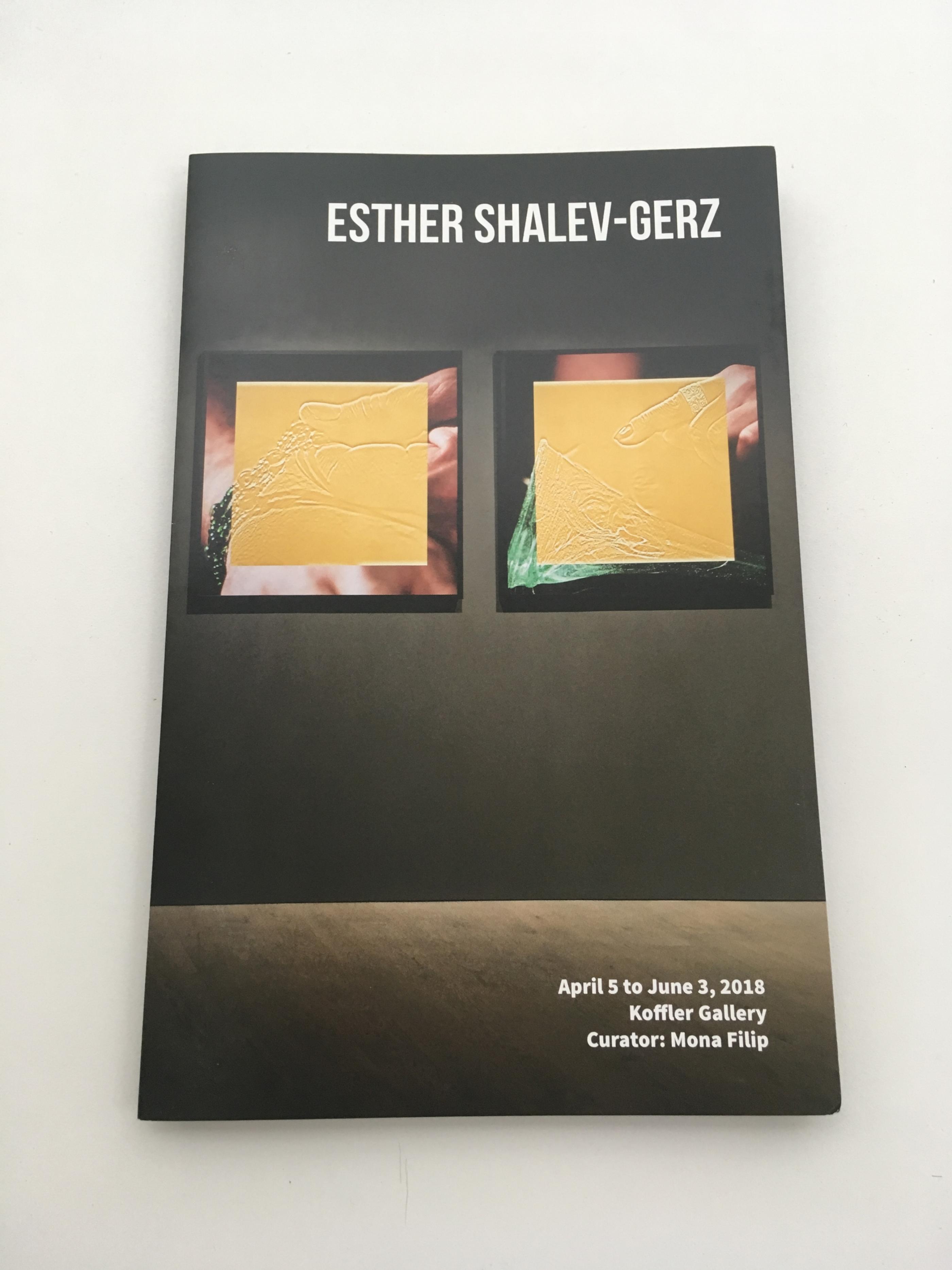 Esther Shalev-Gerz at The Koffler Gallery